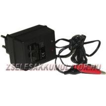Zselés akkumulátor töltő 6V 0,3A töltőáram